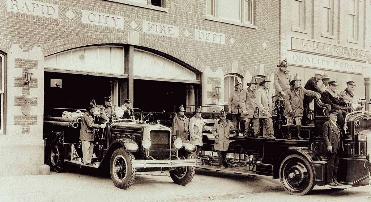 Historic Rapid City Firehouse