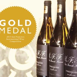 Sauvignon Blanc earns gold medal at the San Francisco International Wine Competition