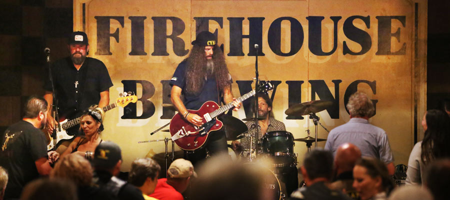 Free live music at Firehouse Brewing Co